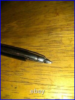 Pilot Namiki Vanishing Point Black withRhodium Extra Fine Fountain Pen #60142