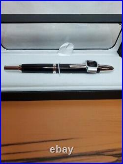 Pilot Namiki Vanishing Point Black withRhodium Fine Fountain Pen #60142