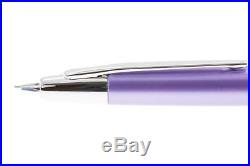 Pilot Namiki Vanishing Point Decimo Purple Fountain Pen 18k Gold Nib Fine