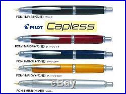 Pilot Namiki Vanishing Point Fountain Pen Fine nib Black Capless Registered F/S