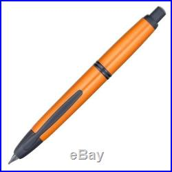 Pilot Namiki Vanishing Point Fountain Pen, Metallic Desert Orange, 18k Fine Nib