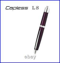Pilot Vanishing Point Capless LS 18K Fine Print Luxury Purple FCLS-35SR-LXPUF