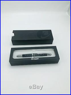 Pilot Vanishing Point Collection Fountain Pen Black & Rhodium Extra Fine P60341