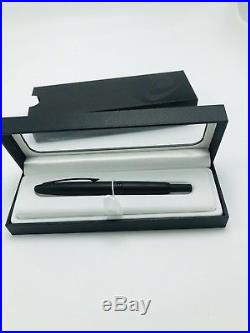 Pilot Vanishing Point Collection Retractable Fountain Pen, Matte Black (Fine)