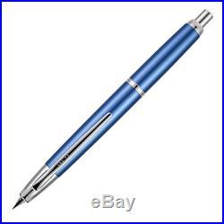 Pilot Vanishing Point Decimo Capless Fountain Pen, Light Blue, 18k Fine Nib