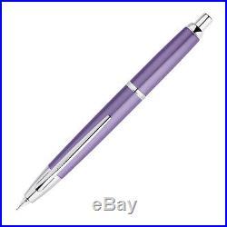 Pilot Vanishing Point Decimo Capless Fountain Pen, Purple, 18k Fine Nib
