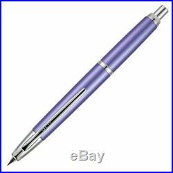 Pilot Vanishing Point Decimo Collection Fountain Pen Purple 18K Fine Point