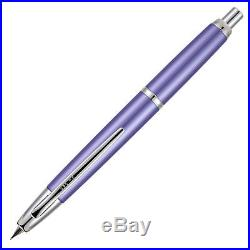 Pilot Vanishing Point Decimo Fountain Pen Purple Extra Fine Point Nib P65336