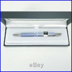 Pilot Vanishing Point Decimo Retractable Fountain Pen, Light Blue, Fine (65341)