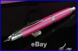 Pilot Vanishing Point Fountain Pen Bubble Gum Pink Limited Edition Fine Nib