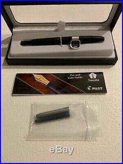 Pilot Vanishing Point Fountain Pen, Matte Black, 18k Extra Fine