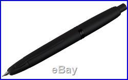 Pilot Vanishing Point Fountain Pen Matte Black 18k Fine Nib
