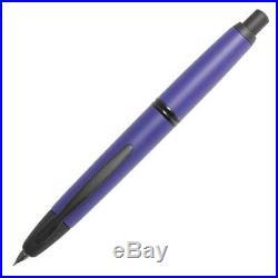 Pilot Vanishing Point Fountain Pen Matte Blue & Black Accents Fine Nib P60596