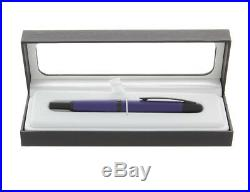 Pilot Vanishing Point Fountain Pen Matte Blue & Black Extra Fine Point P60595