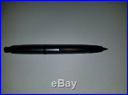 Pilot Vanishing Point Fountain Pen gray and black Fine Nib