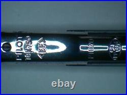 Pilot Vanishing Point Matte Black (EF) 18k Gold Extra Fine Rhodium Plated Nib