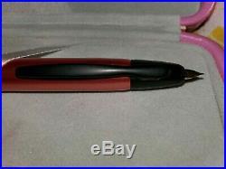 Pilot Vanishing Point Metallic Fountain Pen Copper Red 18k Fine Nib