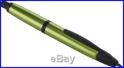 Pilot Vanishing Point Metallic Green Fine Point Fountain Pen NEW