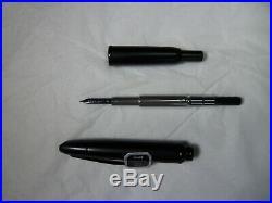 Pilot Vanishing Point Stealth Matte Black Fine Fountain Pen (RETURN Plz. Read)