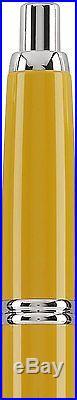 Pilot Vanishing Point Yellow Retractable 18K Gold Fine Point Fountain Pen 60434