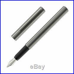 Porsche Design Slim Line P3125 Fountain Pen Graphite Fine Point NEW in Box