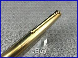 Rare Vintage 14 K Gold Plated Pilot T Series Fountain Pen 18 K Fine Point Nib