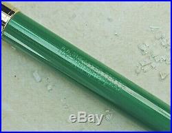 Restored Sheaffer EXCELLENT 1st YEAR Pastel Green Snorkel Valiant Fine Point