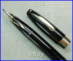 Restored Sheaffer EXCELLENT Black Pen For Men III (PFM III) Fine Point