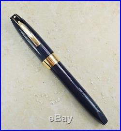 Restored Sheaffer EXCELLENT Blue Pen For Men III (PFM III) Fine Point