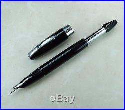 Restored Sheaffer Very Good Black Pen For Men I (PFM I), Fine Point