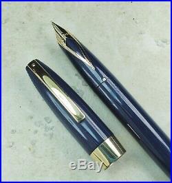 Restored Sheaffer Very Good Blue Pen For Men III (PFM III) Fine Point