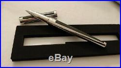 S. T. ST Dupont Defi Fountain Pen in Carbon Fibre FINE Point
