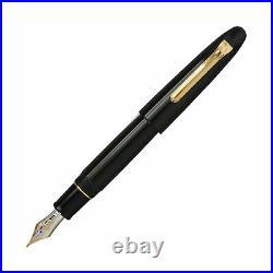 Sailor 1911 King of Pens Fountain Pen in Ebonite 21K Gold Medium Fine Point
