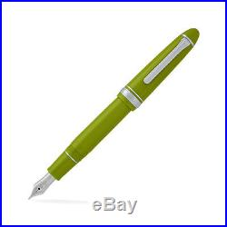 Sailor 1911 Standard -14kt Extra Fine Point Fountain Pen Key Lime Green NEW