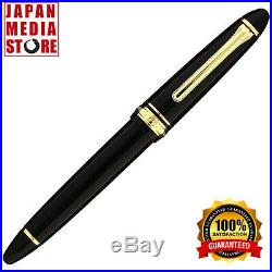 Sailor 1911 Standard Black GT 14K Gold Extra Fine Point Fountain Pen 11-1219-120