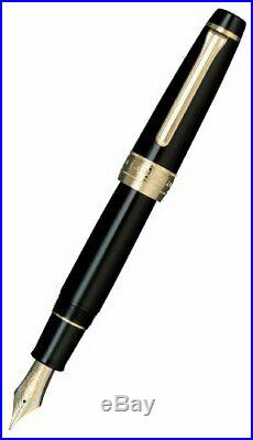 Sailor King of Pen (KOP) BK Ebonite Medium nib 21K Fine Point (Medium)