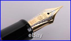 Sailor Professional Gear Gold 24k Fountain Pen Black 11-2036-220 Fine Point
