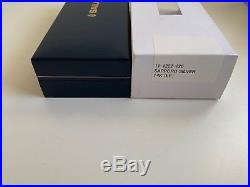 Sailor Professional Gear Slim Black Silver Trim Extra Fine Point Fountain Pen