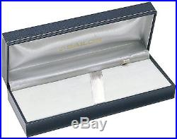 Sailor Professional Gear Slim Black with Silver Trim Fine Point Fountain Pen