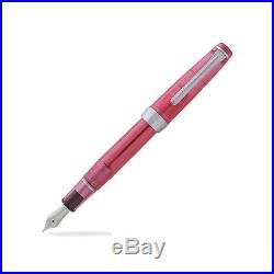 Sailor Professional Gear Slim Transparent Pink ST 14K Fine Point Fountain Pen