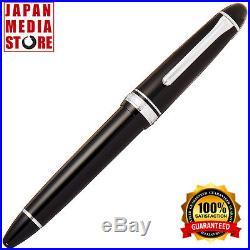 Sailor Profit Standard 21 Fountain Pen Fine Point Black Silver Body 11-2024-220