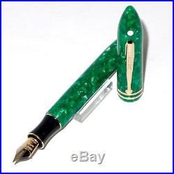 Sheaffer Balance Jade Green Fountain Pen, X-Fine Point, 874-0X