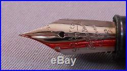 Sheaffer Green Admiral Snorkel Pen-works- X-6 extra fine point nib