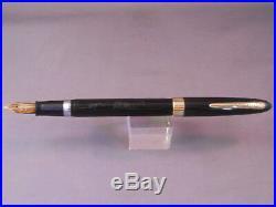 Sheaffer Snorkel Fountain Pen-black-working- fine point