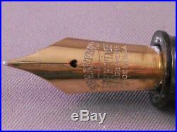 Sheaffer Vintage White Dot Oversize Balance Fountain Pen- l4k fine point