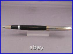 Sheaffer Vintage White Dot Sentinel Cap Snorkel-Black-working-fine point