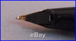 Sheaffer White Dot Black Imperial IV Touchdown Fountain Pen Set-fine point