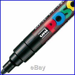 UNI POSCA Paint Marker Pen Bundle Set Fine Point 12 Colours Fine Medium Bold F/S