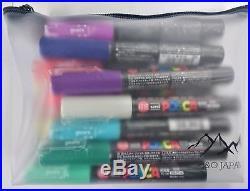 Uni Posca Paint Marker Pen Extra Fine Point(PC-1M) 21 Colors Set with Origina