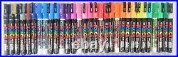 Uni Posca Paint Marker Pen, Size 3M Fine Point 31 Set